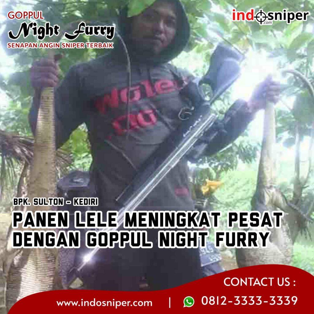 Panen Lele Meningkat Pesat Dengan Goppul Night Furry