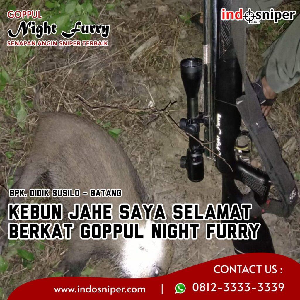 Kebun Jahe Saya Selamat Berkat Goppul Night Furry