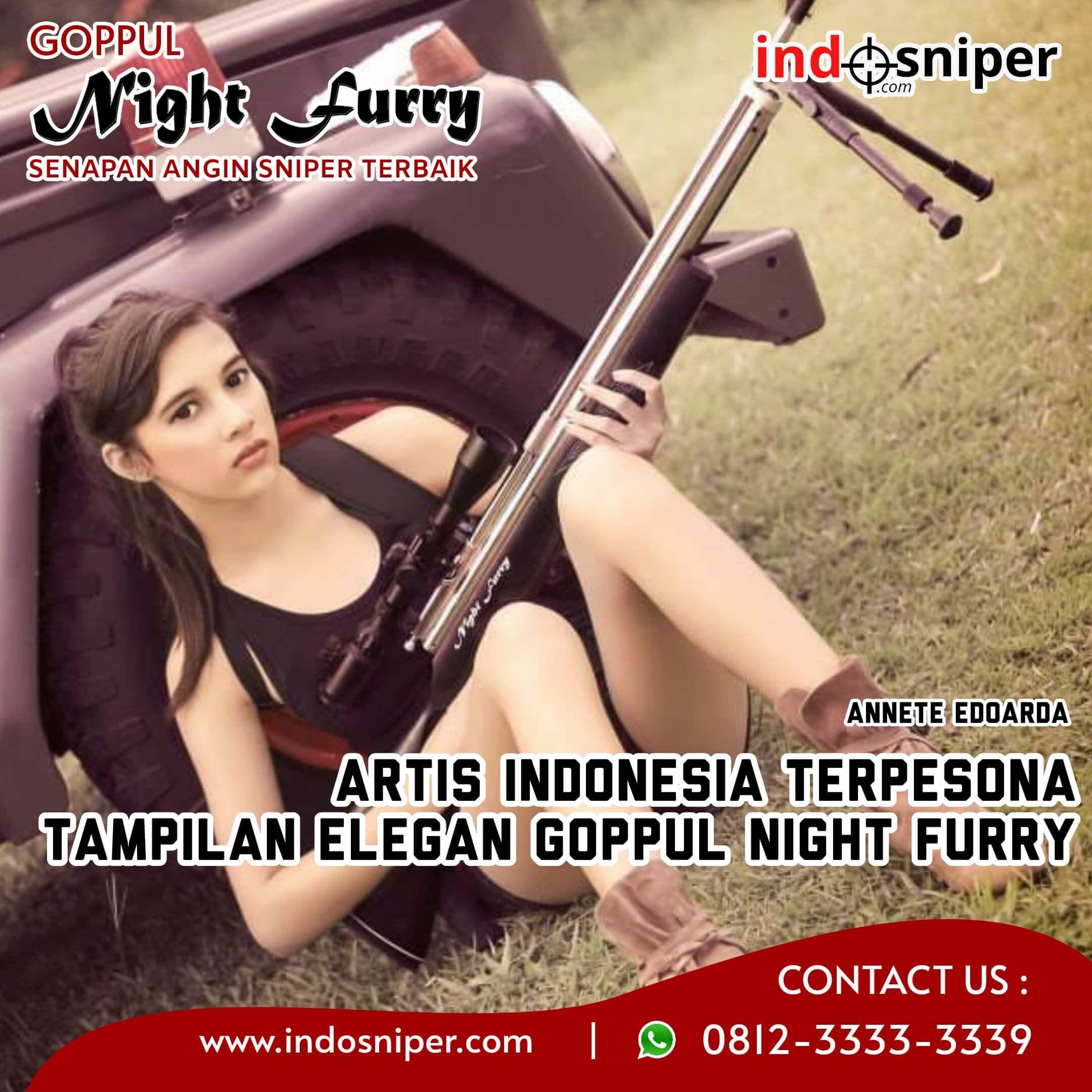 Artis Indonesia Terpesona Tampilan Elegan Goppul Night Furry